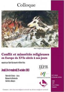 colloque conflits MR oct 2013